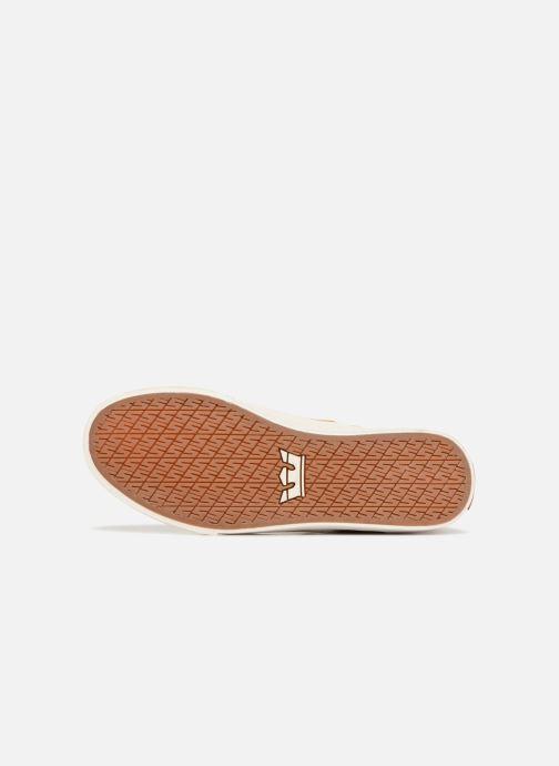 Sneaker Supra Stacks Mid braun ansicht von oben