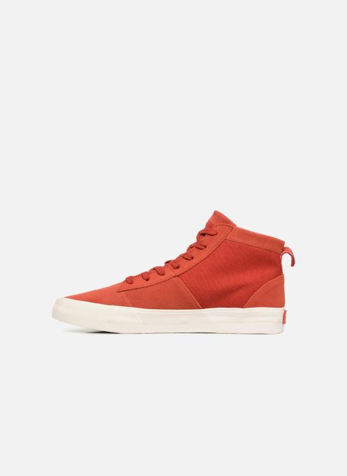 Sneakers Supra Stacks Mid Rosso immagine frontale