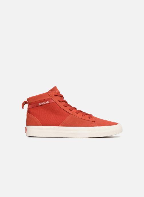 Sneaker Supra Stacks Mid rot ansicht von hinten