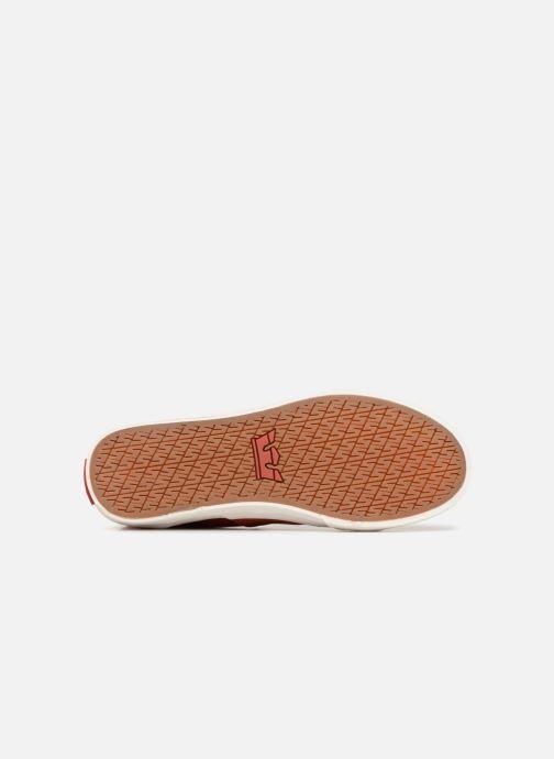 Sneaker Supra Stacks Mid rot ansicht von oben