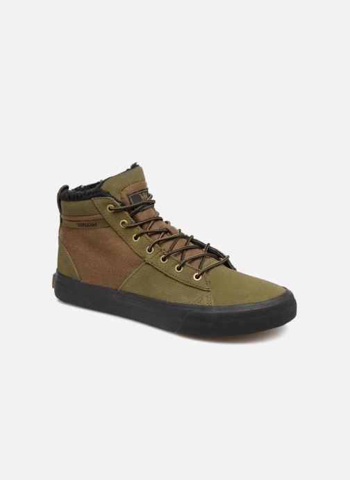 Sneakers Supra Stacks Mid Groen detail