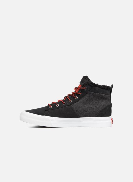 Trainers Supra Stacks Mid Black front view
