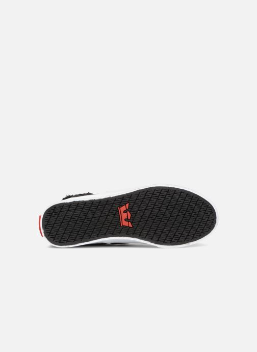 Trainers Supra Stacks Mid Black view from above