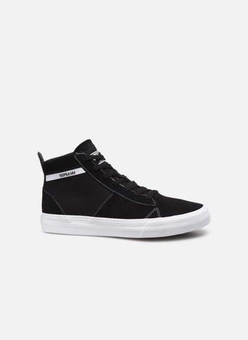 Sneaker Supra Stacks Mid schwarz ansicht von hinten
