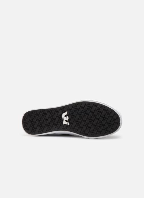 Sneaker Supra Stacks Mid schwarz ansicht von oben