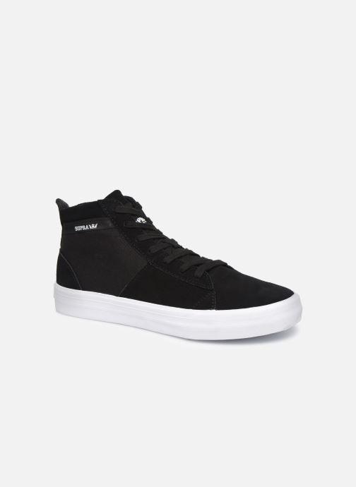 Sneaker Supra Stacks Mid schwarz detaillierte ansicht/modell