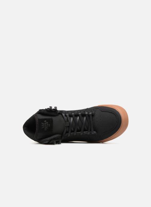 Sneaker Supra Vaider CW schwarz ansicht von links