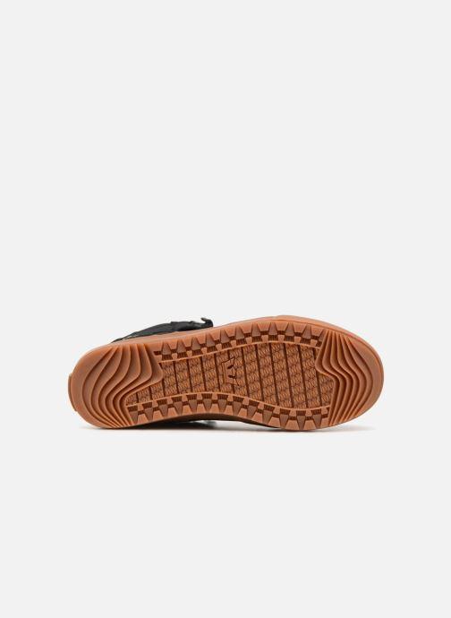 Sneaker Supra Vaider CW schwarz ansicht von oben