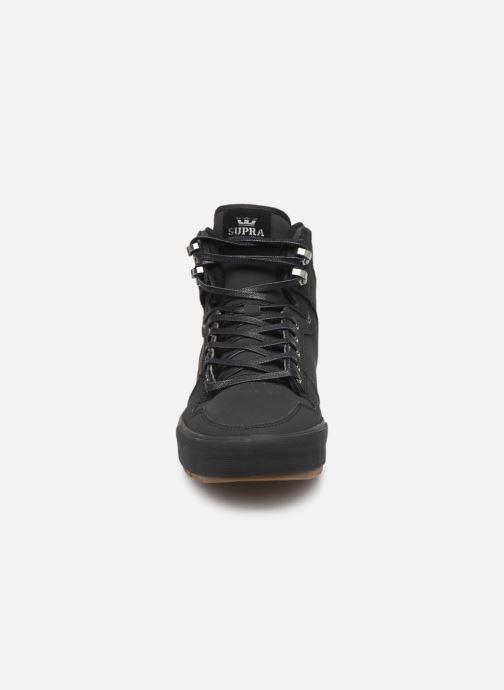 Baskets Supra Vaider CW Noir vue portées chaussures