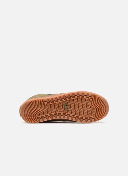 Sneaker Supra Graham CW grün ansicht von oben