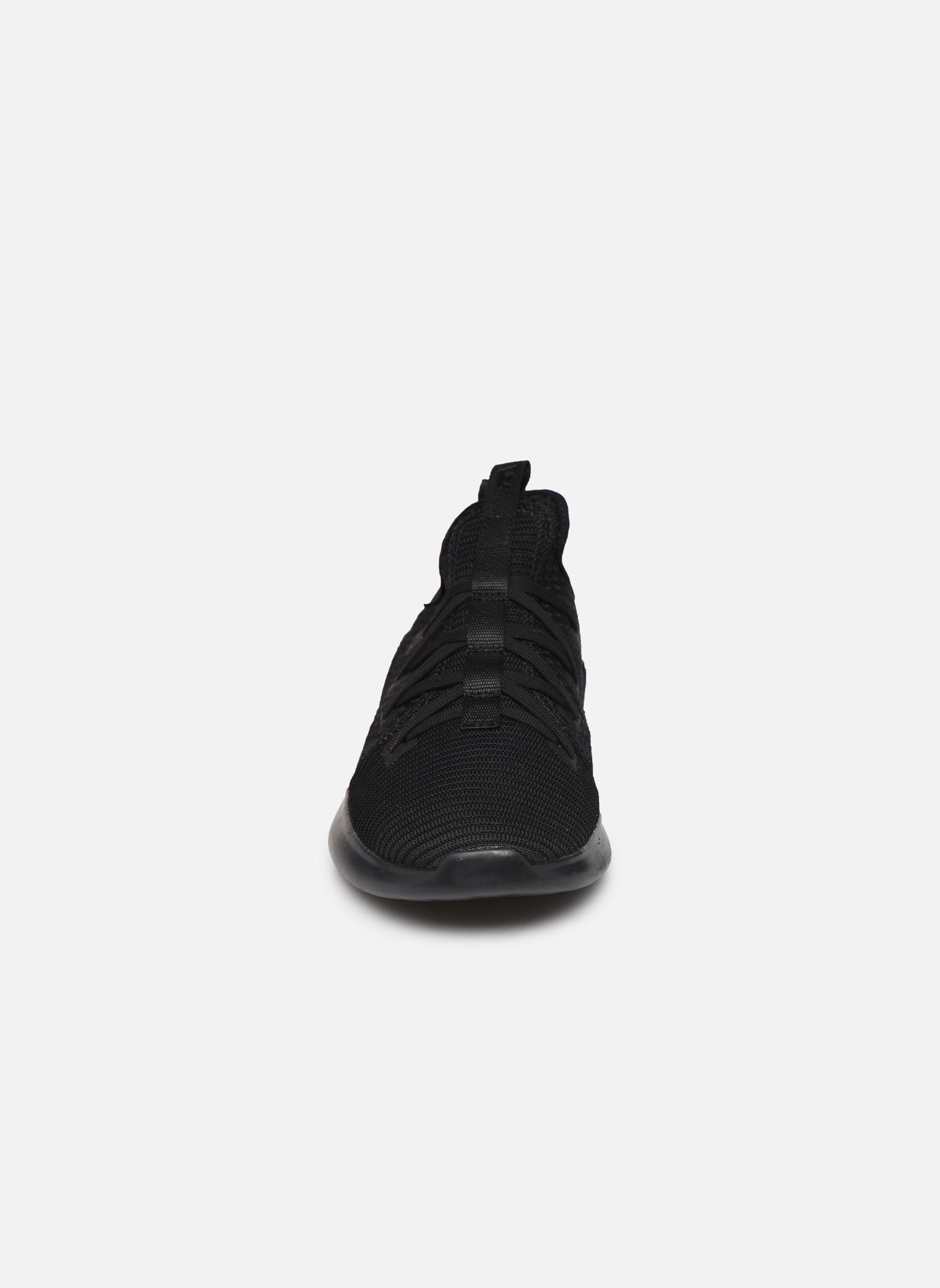 Baskets Supra Factor Noir vue portées chaussures