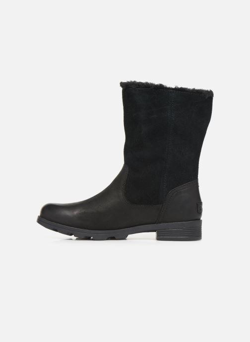 Bottines et boots Sorel Emelie Foldover Noir vue face