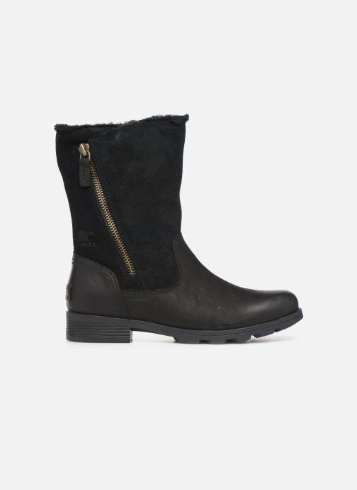 Bottines et boots Sorel Emelie Foldover Noir vue derrière