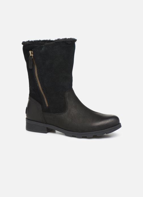 Bottines et boots Sorel Emelie Foldover Noir vue détail/paire