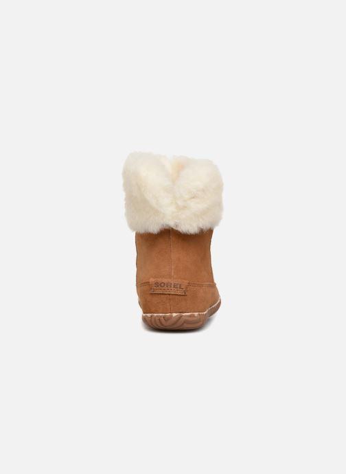 Bottines et boots Sorel Out'n about bootie Marron vue droite