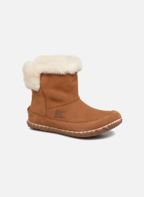 Bottines et boots Sorel Out'n about bootie Marron vue détail/paire