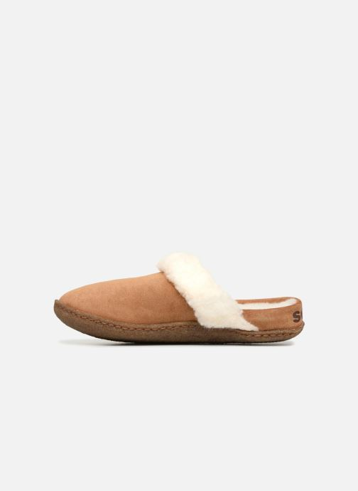 Chaussons Sorel Nakiska Slide II Marron vue face