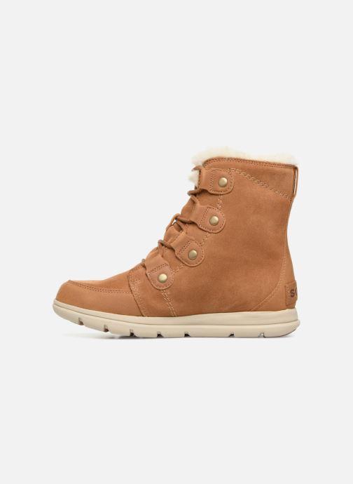 Stiefeletten & Boots Sorel Sorel Explorer Joan braun ansicht von vorne