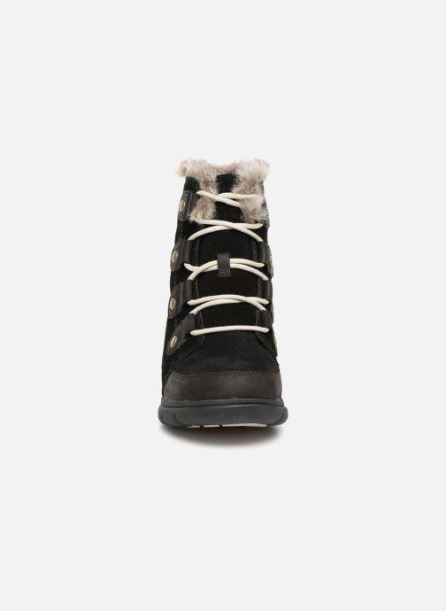 Ankle boots Sorel Sorel Explorer Joan Black model view