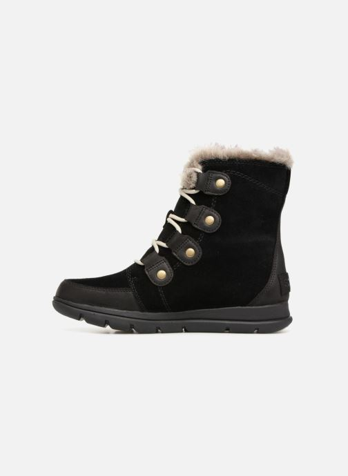 Bottines et boots Sorel Sorel Explorer Joan Noir vue face