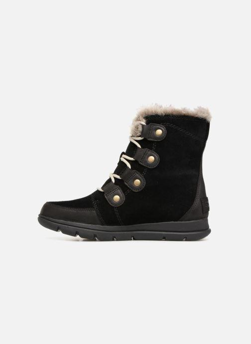 Ankle boots Sorel Sorel Explorer Joan Black front view