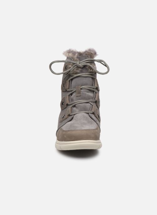 Bottines et boots Sorel Sorel Explorer Joan Gris vue portées chaussures