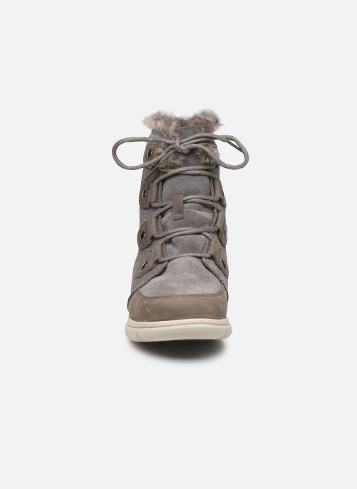 Boots en enkellaarsjes Sorel Sorel Explorer Joan Grijs model