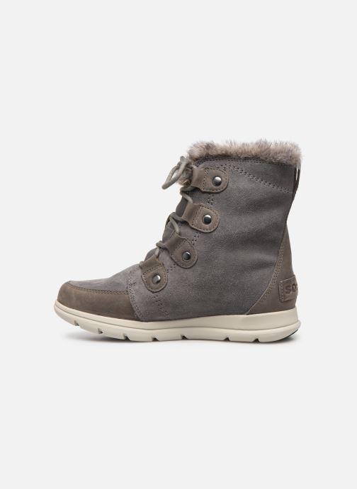 Bottines et boots Sorel Sorel Explorer Joan Gris vue face