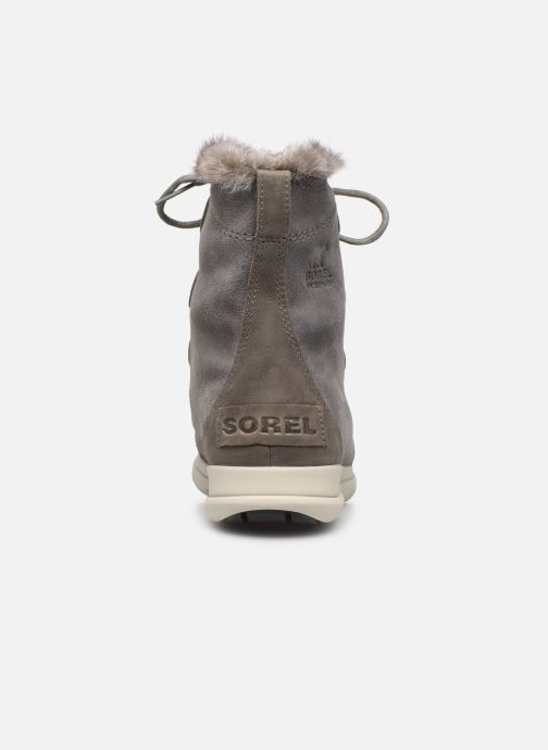 Bottines et boots Sorel Sorel Explorer Joan Gris vue droite