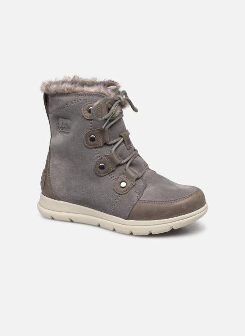 Bottines et boots Sorel Sorel Explorer Joan Gris vue détail/paire