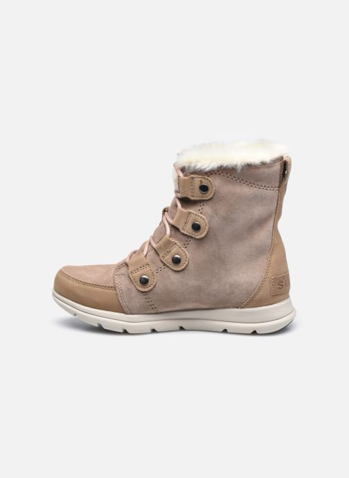 Bottines et boots Sorel Sorel Explorer Joan Marron vue face