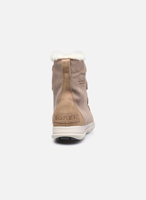 Bottines et boots Sorel Sorel Explorer Joan Marron vue droite