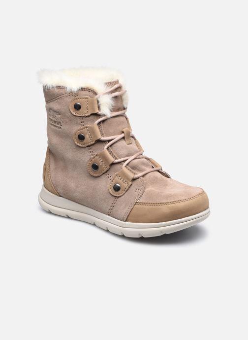Bottines et boots Sorel Sorel Explorer Joan Marron vue détail/paire