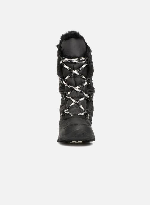 Zapatillas de deporte Sorel Whitney Tall Lace II Negro vista del modelo
