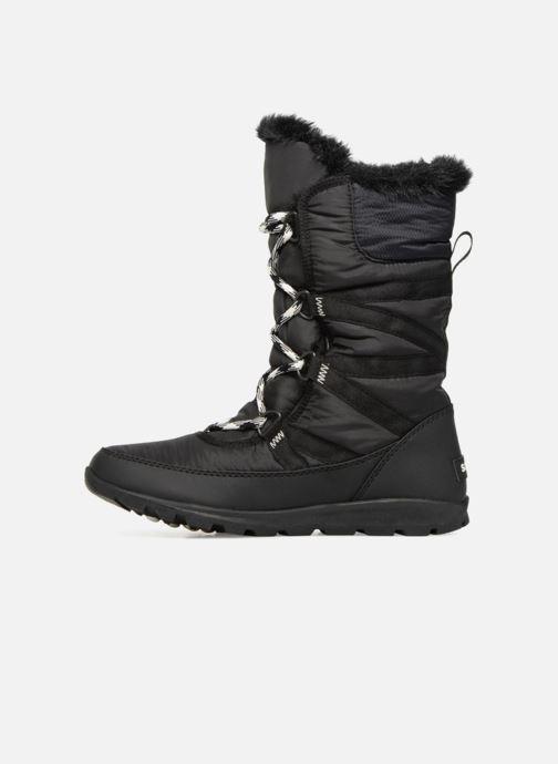 Zapatillas de deporte Sorel Whitney Tall Lace II Negro vista de frente