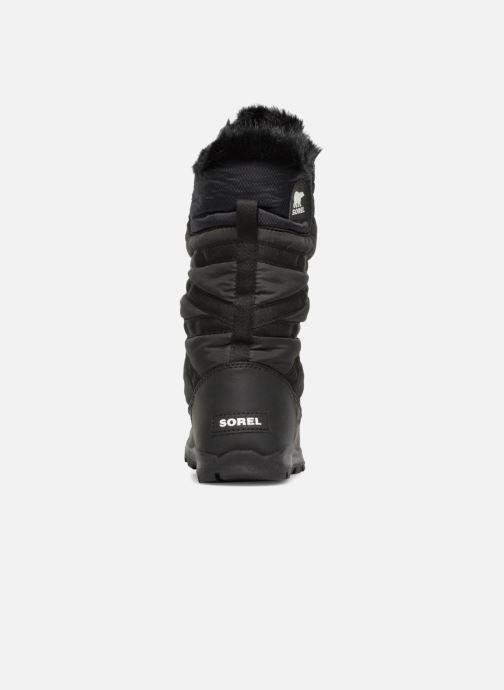 Chaussures de sport Sorel Whitney Tall Lace II Noir vue droite