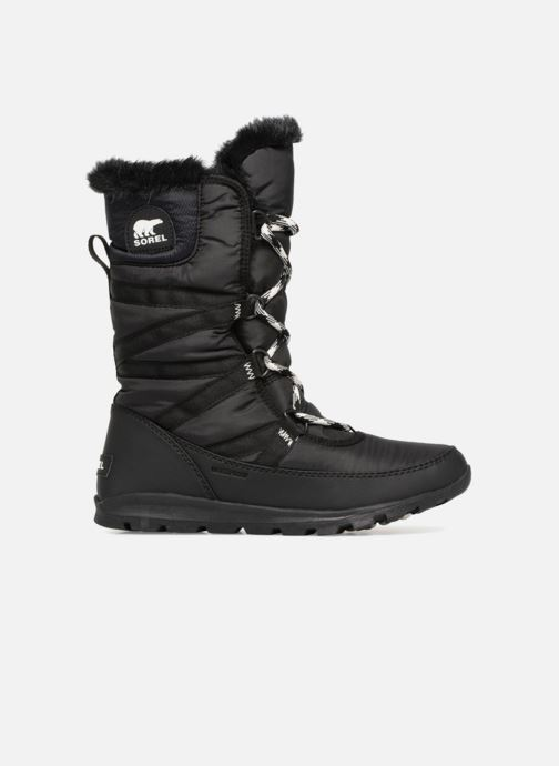 Zapatillas de deporte Sorel Whitney Tall Lace II Negro vistra trasera
