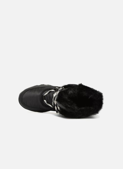 Zapatillas de deporte Sorel Whitney Tall Lace II Negro vista lateral izquierda