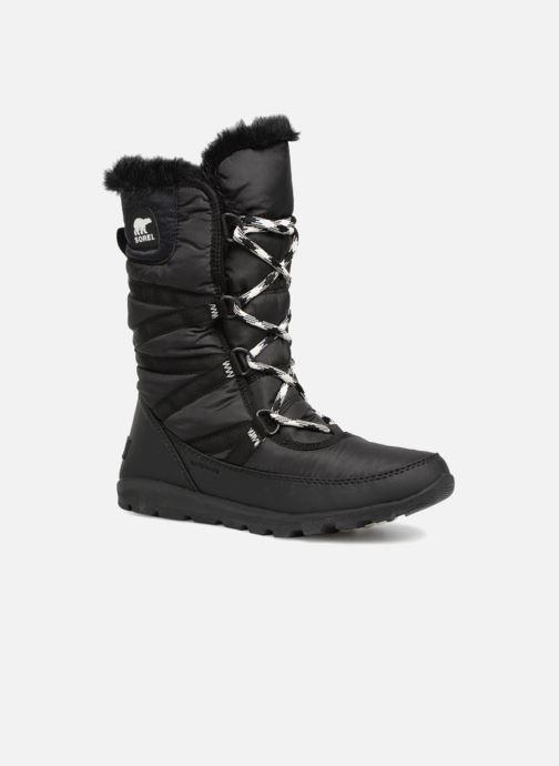 Zapatillas de deporte Sorel Whitney Tall Lace II Negro vista de detalle / par