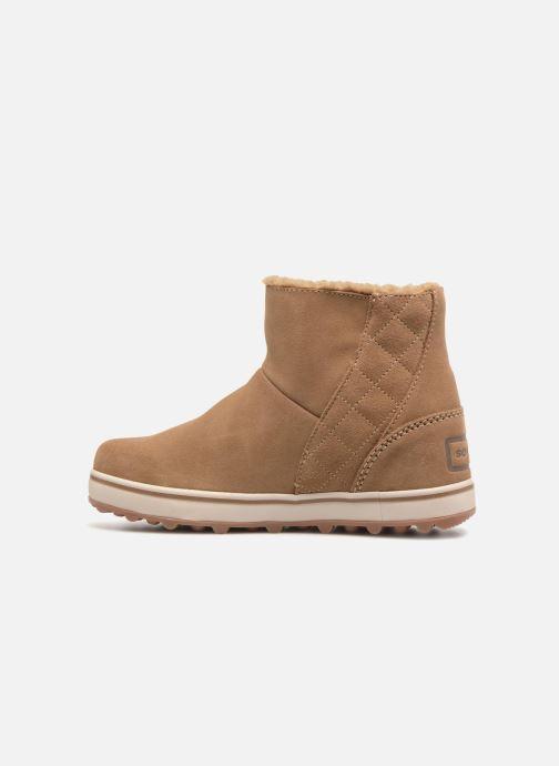 Boots en enkellaarsjes Sorel Glacy Short Bruin voorkant