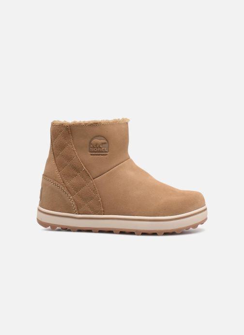 Boots en enkellaarsjes Sorel Glacy Short Bruin achterkant