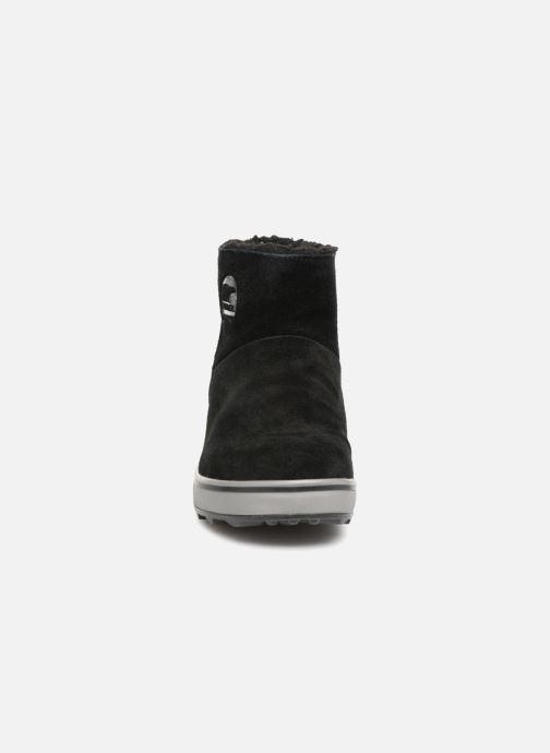 Boots en enkellaarsjes Sorel Glacy Short Zwart model