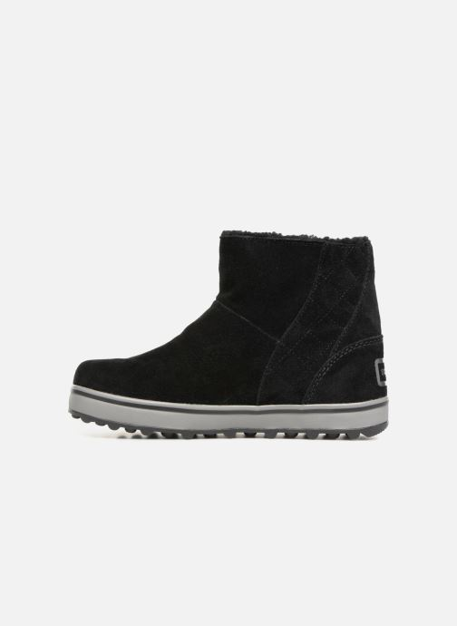 Bottines et boots Sorel Glacy Short Noir vue face
