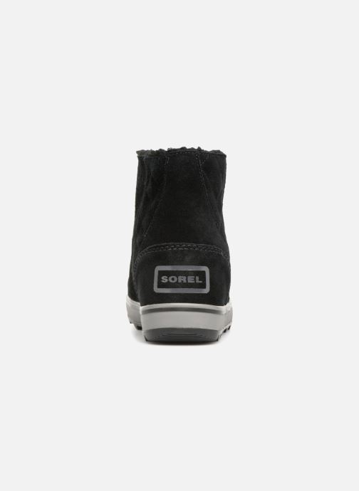 Botines  Sorel Glacy Short Negro vista lateral derecha