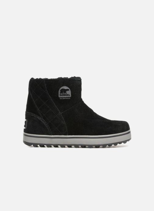 Boots en enkellaarsjes Sorel Glacy Short Zwart achterkant