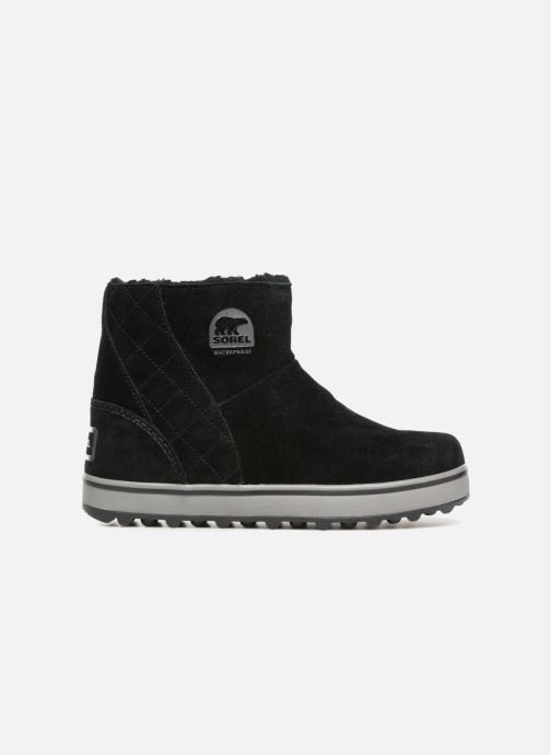 Botines  Sorel Glacy Short Negro vistra trasera