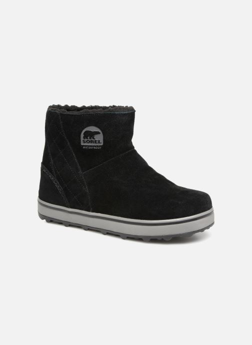 Ankle boots Sorel Glacy Short Black detailed view/ Pair view