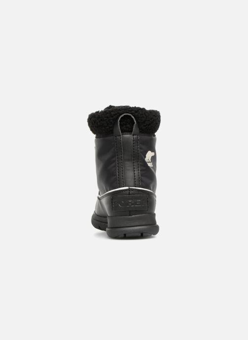 Chaussures de sport Sorel Sorel Explorer Carnival Noir vue droite