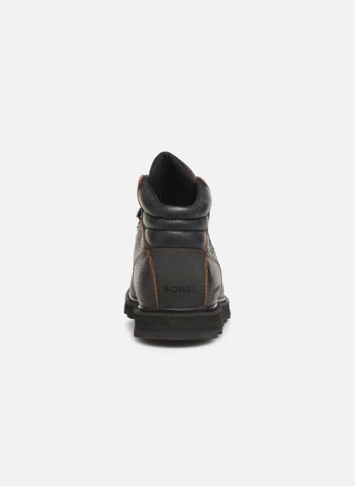 Bottines et boots Sorel Madson Hiker Waterproof Noir vue droite