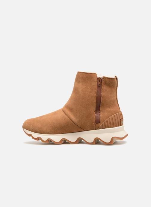 Bottines et boots Sorel Kinetic Short Marron vue face